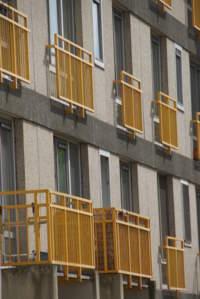 Poedercoating op balkonhekken Antwerpen Kiel_1